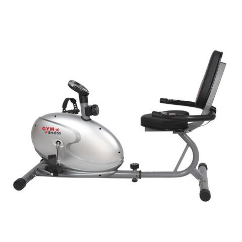 GYM of Fitness FN98008B Magnetic Recumbent Exercise Bike - Silver