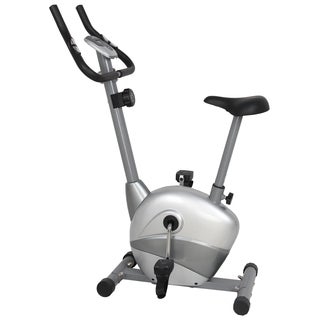 GYM of Fitness FN98009B Upright Magnetic Exercise Bike - Silver