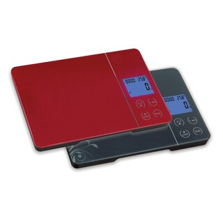 Glass Digital Kitchen Food Scale (Option: Red)