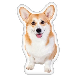 Welsh Corgi Shaped Pillow