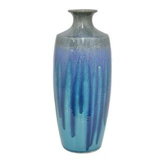 Blue-colored Ceramic Vase