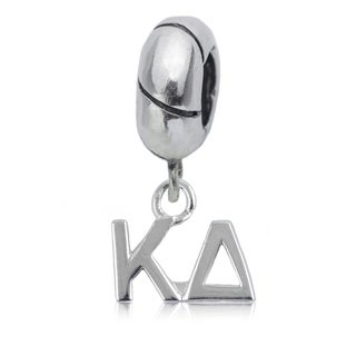 Kappa Delta Sterling Silver Charm Bead
