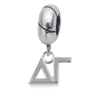 Delta Gamma Sterling Silver Charm Bead