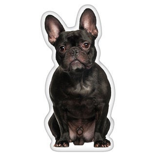 French Bulldog Black Shaped Pillow