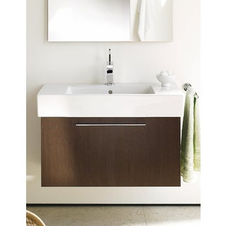 Duravit 17.68-inch White High Gloss X-large Vanity