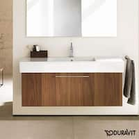 Duravit Fogo Vanity Unit Wall-Mounted FO957301313 American Walnut