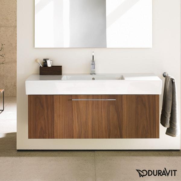 Duravit 31.5 Inch American Walnut Fogo Vanity