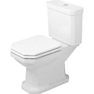 Duravit White Alpin 1930 Series Specialty Two Piece Toilet