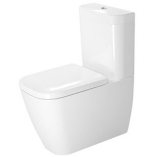 Duravit White Alpin Happy D Toilet Bowl
