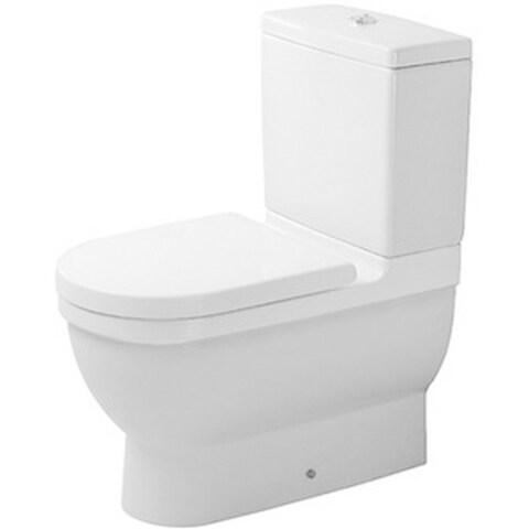 Duravit 25.75-inch White Alpin Starck Toilet Bowl