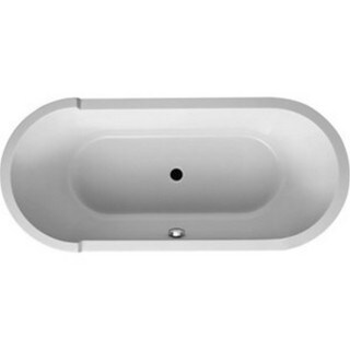 Duravit 70.88-inch White Alpin Starck Soaking Bathtub