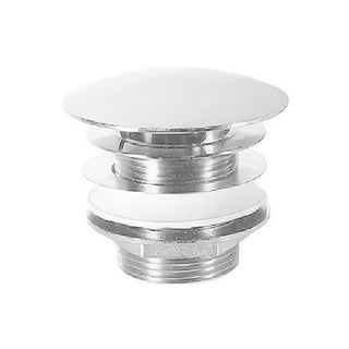 Duravit Push Button Drain Assembly 0050521092 Chrome