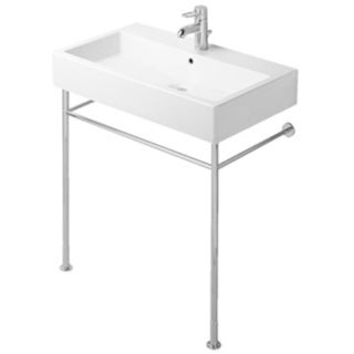 Duravit White Alpin Vero Console Porcelain 18.50 31.50 Bathroom Sink