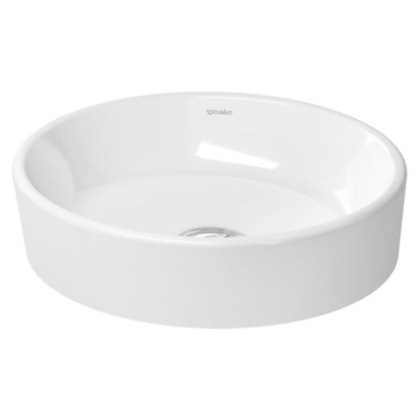 Duravit White Alpin Starck Vessel Porcelain Bathroom Sink 2321440000