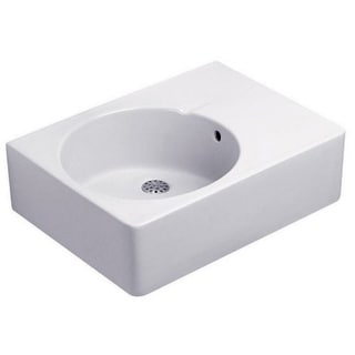 Duravit White Alpin Scola Console Porcelain Bathroom Sink