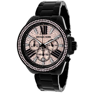 Michael Kors Women's MK5879 Everest Round Black Ion-Plated Stainless Steel Bracelet Watch