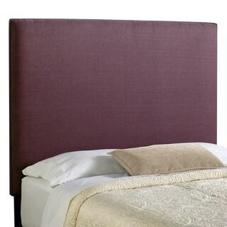 Humble + Haute Bingham Tall Full Size Iris 100-percent Linen Upholstered Headboard