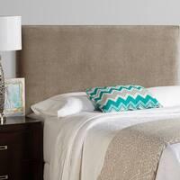 Humble + Haute Bingham Light Grey Velvet Upholstered Headboard