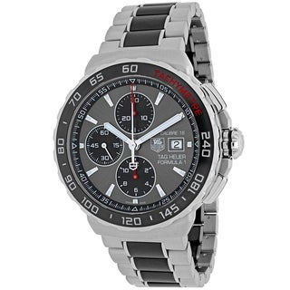Tag Heuer Men's CAU2011.BA0873 Formula 1 Round Two-tone Stainless Steel and Ceramic Bracelet Watch