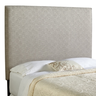 Humble + Haute Bingham Tall Queen Size Ash Grey Upholstered Headboard