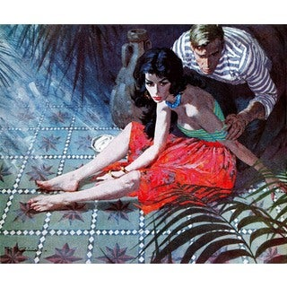 "Marmont Hill - ""Beauty is the Prize"" by Robert McGinnis Painting Print on Canvas"
