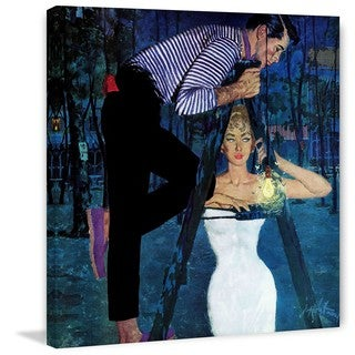 """Marmont Hill - """"Gigilo"""" by Coby Whitmore Painting Print on Canvas"""