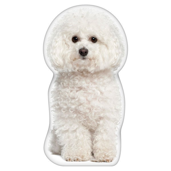 shop bichon frise shaped pillow free shipping on orders over 45