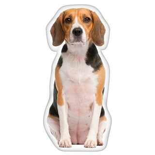 Beagle Shaped Pillow