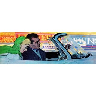 "Marmont Hill - ""Take Her to Vegas"" by Joe de Mers Painting Print on Canvas"