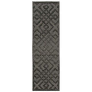 Nourison Ultima Silver Grey Runner Rug (2'2 x 7')