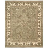 Nourison Silk Touch Olive Rug (7'9 x 9'9)