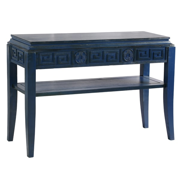 Beautiful Blue Console Table Antique Blue Chinoiserie Console Table C  Throughout Designs Blue Console Table