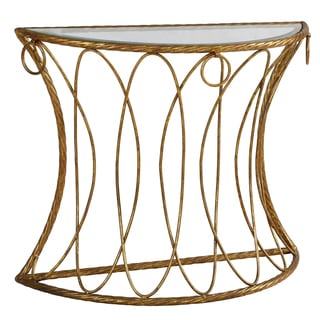 Metal Rope Console Table