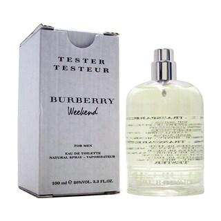 Burberry Weekend Men's 3.4-ounce Eau de Toilette Spray (Tester)