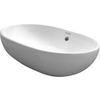 Duravit White Alpin Bathroom Foster Vessel Porcelain Bathroom Sink