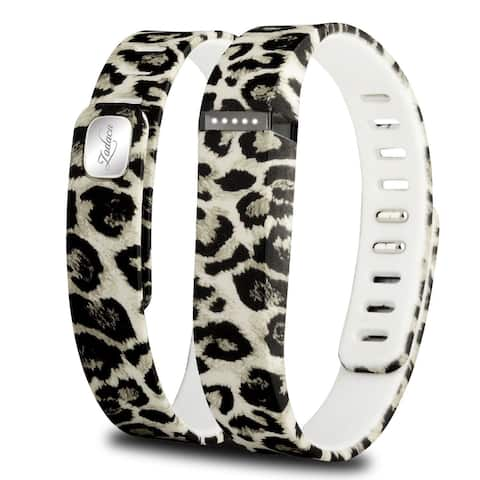 Zodaca Design Pattern Smart TPU Replacement Case Wristband for FITBIT FLEX Bracelet Health Devices