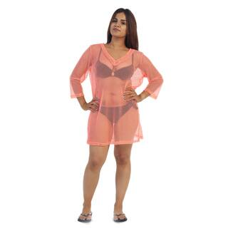 Ella Samani Plus Size Women's Swimsuit Cover Up's|https://ak1.ostkcdn.com/images/products/10488375/P17576236.jpg?impolicy=medium
