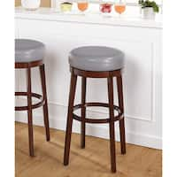 Simple Living 30-inch Avenue Swivel Bar Stool