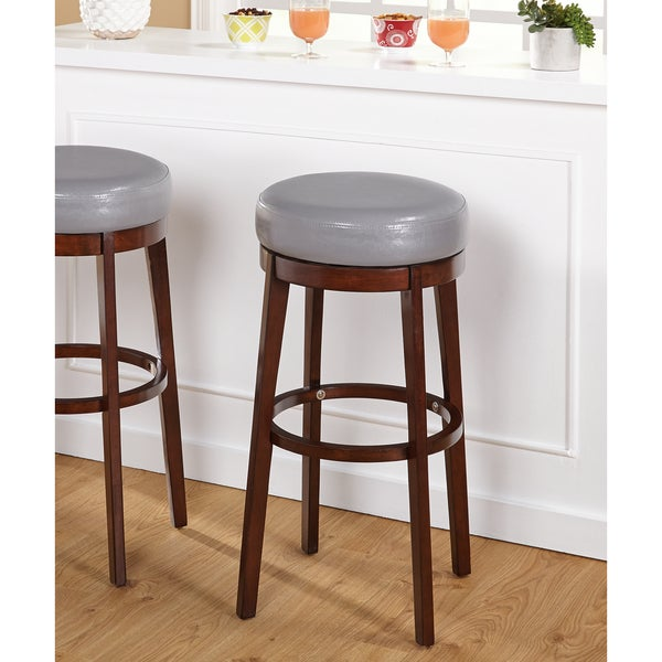 Shop Simple Living 30 Inch Avenue Swivel Bar Stool On