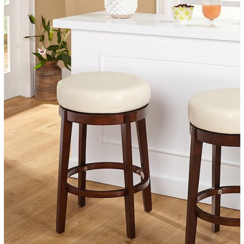 Simple Living 24-inch Avenue Swivel Counter Height Stool