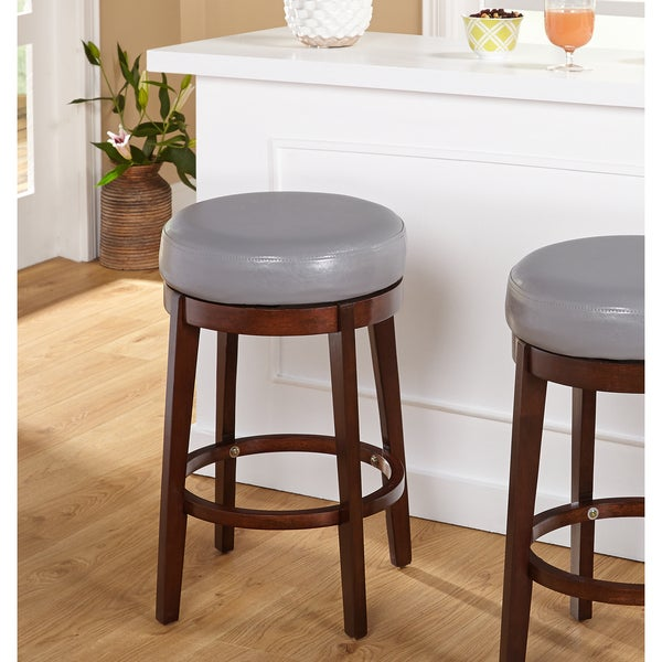 Shop Simple Living 24 Inch Avenue Swivel Stool Free