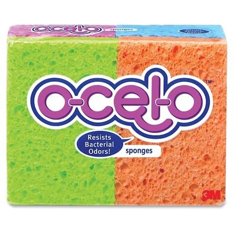 3M O-Cel-O Sponge w/ M Stayfresh Technology (Pack of 4)