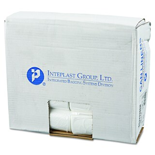 Inteplast Group Natural 16gal 24 x 33 Commercial Can Liners (Pack of 1000)