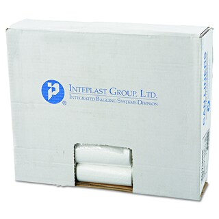 Inteplast Group Clear 4gal 17 x 18 High-Density Can Liners (40 Rolls of 50 Liners)
