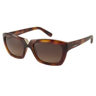 Valentino Women's V665S Rectangular Sunglasses
