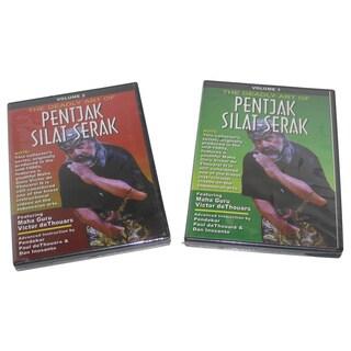 Victor deThouars Pentjak Silat Indonesian Martial Arts 2 DVD Set