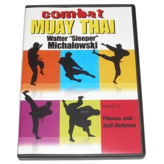 Combat Muay Thai #3 Training Secrets Street Tech DVD Michalowski CMT03-D