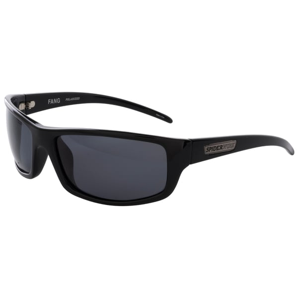 Spiderwire Unisex SSGFGGBL Fang Rectangle Sunglasses