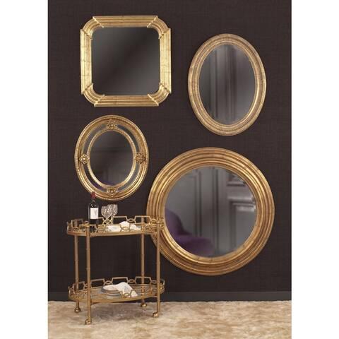 Allan Andrews Nero Goldtone wall Mirror