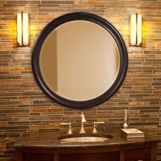 Allan Andrews George Bronze Wall Mirror